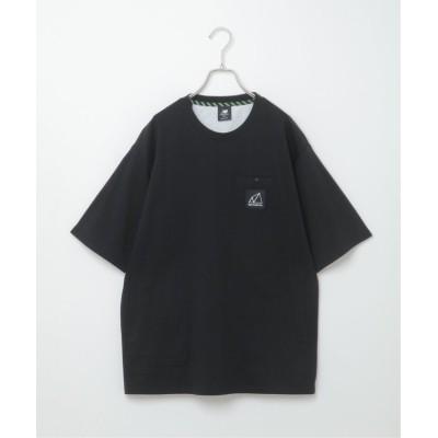 (ikka/イッカ)New Balance All Terrain ポケットT/メンズ ブラック