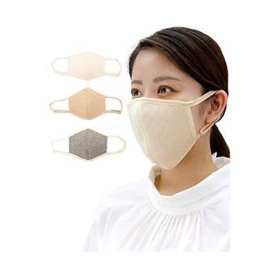 [AQUADOLL(アクアドール)] マスク お肌に優しい 洗える オーガニックコットン キルト 立体マスク (GY.グレー フリーサイズ)