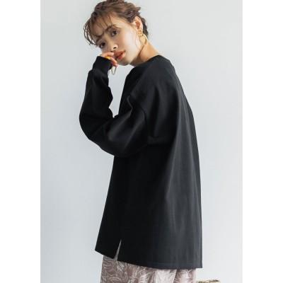 コカ coca ユニセックスロングTシャツ (Black)