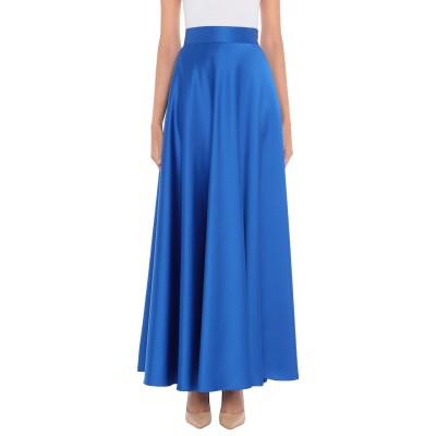 MONCHO HEREDIA ロングスカート ブライトブルー 40 ポリエステル 100% ロングスカート