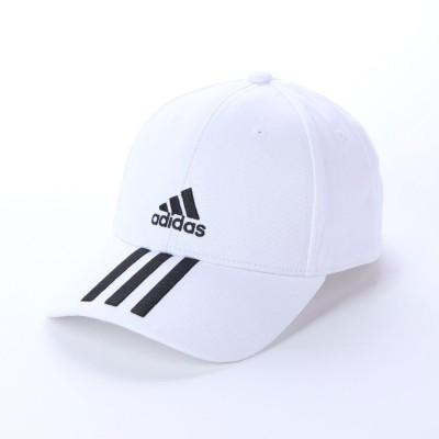 アディダス adidas キャップ BBALL3SCAPCT FQ5411 (ホワイト)