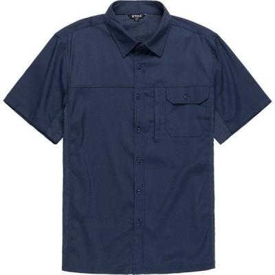 ストイック メンズ シャツ トップス Solid Performance Woven Button-Down Shirt
