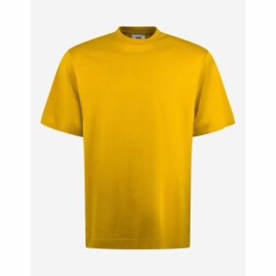 ワイスリー Y-3 メンズ Tシャツ トップス Gold Classic Logo Print T-Shirt Gold