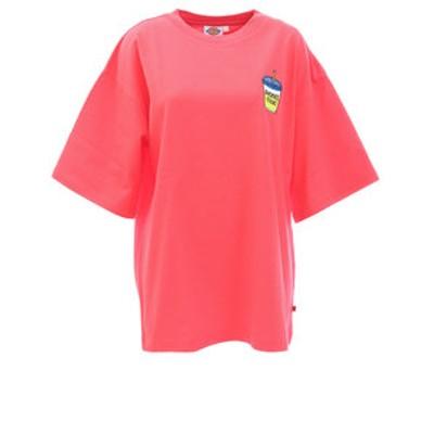 ディッキーズ(Dickies)刺繍入り5分袖Tシャツ DK006294CX91
