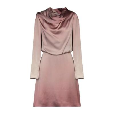 ブルマリン BLUMARINE ミニワンピース&ドレス ライトブラウン 40 レーヨン 62% / アセテート 38% ミニワンピース&ドレス
