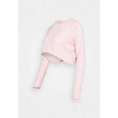 コットン オン ボディ カットソー レディース トップス MATERNITY CROSS BACK  - Long sleeved top - pink sherbet