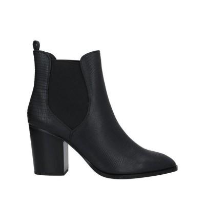 EXE' ショートブーツ  レディースファッション  レディースシューズ  ブーツ  その他ブーツ ブラック