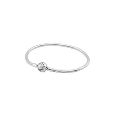 ブレスレット パンドラ Pandora Moments Smooth Silver Clasp Bracelet 59072821