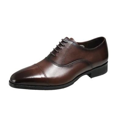 マドラスモデロメンズシューズ5121ダークブラウン紳士靴シンプルな内羽根ビブラムソール使用ドレスビジネスシューズピークトゥがおしゃれな紳士靴