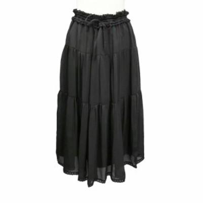 新品未使用 Select セレクト「L」ギャザー ボリューム スカート 089770【中古】