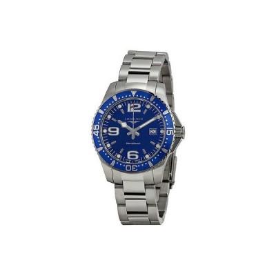 ロンジン 腕時計 Longines HydroConquest ブルー ダイヤル ステンレス スチール メンズ 腕時計 L3.640.4.96.6