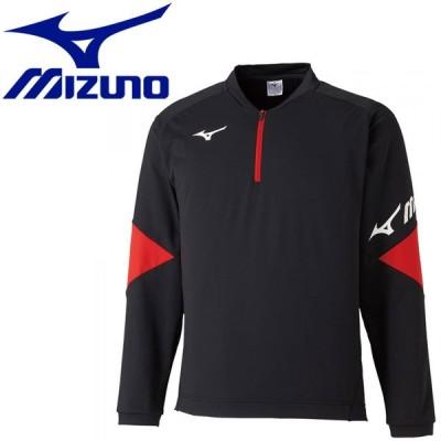 ミズノ テニス/ソフトテニス ライトスウェットシャツ(ハーフジップ) ユニセックス  62JC051009