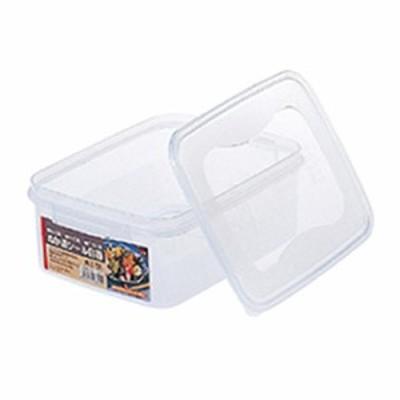 シール容器 ぬか漬けシール容器 角3.5型 3.5L クリア | 漬物容器 ぬか漬け 密封 角型