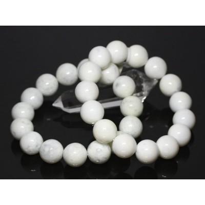 ☆高品質☆【ブレスレット】ホワイトオパール (約16mm) (ケース付) 天然石 パワーストーン
