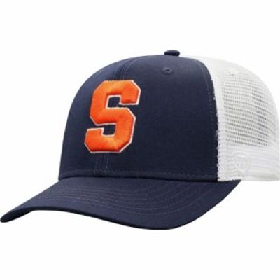 トップオブザワールド Top of the World メンズ キャップ トラッカーハット 帽子 Syracuse Orange Blue/White Trucker Adjustable Hat