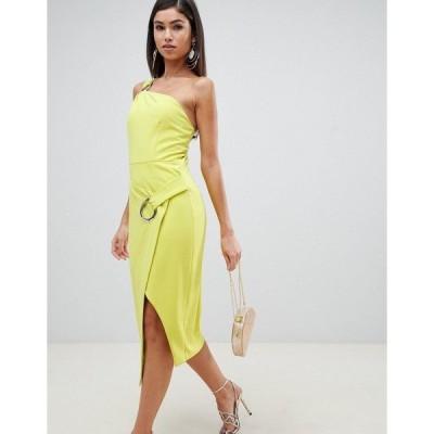 フォーエバーユニーク レディース ワンピース トップス Forever Unique bandeau dress with hoop Green