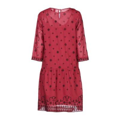 メゾンスコッチ MAISON SCOTCH ミニワンピース&ドレス ボルドー XS レーヨン 55% / コットン 45% ミニワンピース&ドレス