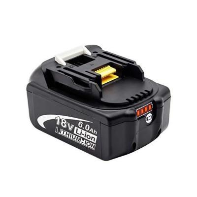 PowerBatteryマキタ 18v バッテリー bl1860b 6.0Ah マキタ18v互換 バッテリーBL1830 BL1840 BL1850 BL1860 リチウムイオン電池 PSE取得済み BL1860B