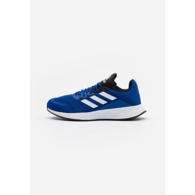 アディダス シューズ メンズ ランニング DURAMO  - Neutral running shoes - royal blue/footwear white/core black