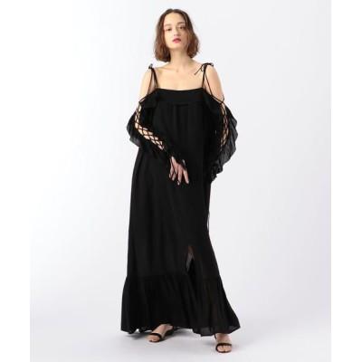 TOMORROWLAND/トゥモローランド Rodebjer Arlo Long Dress 19 ブラック XS