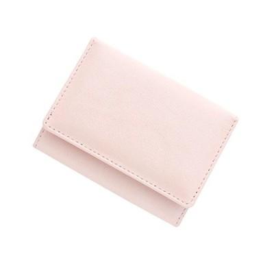 極小財布シープスキンメタリック 日本製 (オーロラピンク)