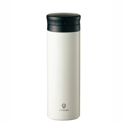 【カクセー】cococafe (ココカフェ)真空二重マグ500ml  ホワイト 軽量モデル 【同梱不可】[▲][MS]