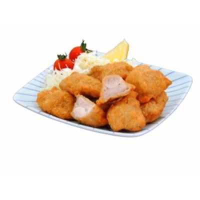 一口鶏ももカツ 1kg 【業務用 冷凍食品 惣菜 鶏肉 チキン もも カツ お弁当 おかず おつまみ イベント】