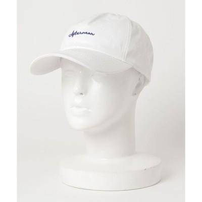 帽子 キャップ 【adamsJUGGLER】アフターヌーンキャップ