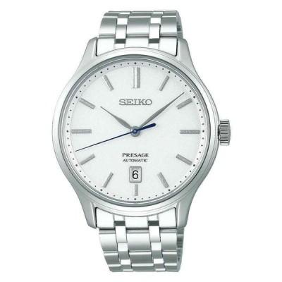 セイコー 腕時計 Seiko SRPD39J1 Presage プレザージュ Automatic Zen Garden White ホワイト Stainless Steel メンズ Watch