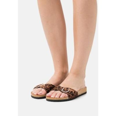 レディース 靴 シューズ Mules - brown