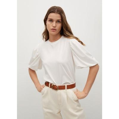 Tシャツ .-- PALOMITA (ナチュラルホワイト)