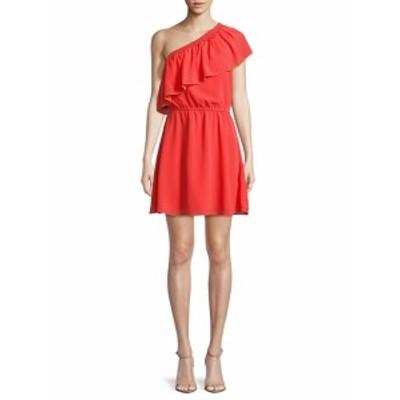 パーカー レディース ワンピース One-Shoulder Shift Dress