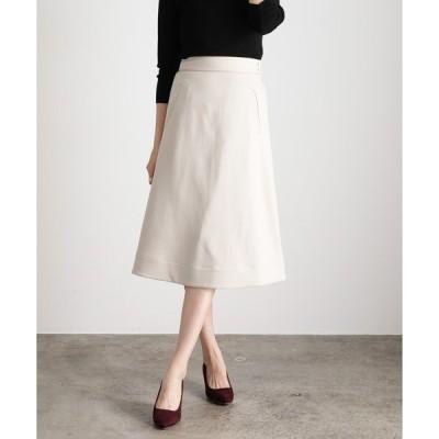 スカート 【EASY CARE】パイピングナロースカート