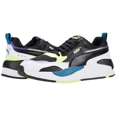 プーマ X-Ray 2 Square メンズ スニーカー 靴 シューズ Puma White/Puma Black/Fizzy Yellow/Digi Blue/Ultra Violet