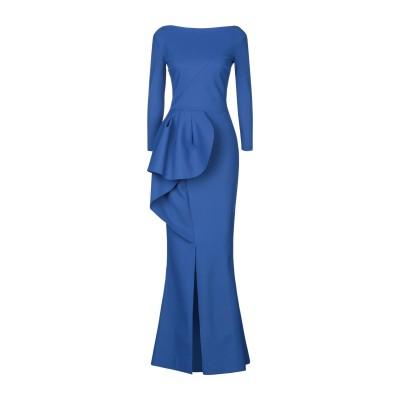 CHIARA BONI LA PETITE ROBE ロングワンピース&ドレス ブルー 40 ナイロン 72% / ポリウレタン 28% ロングワン