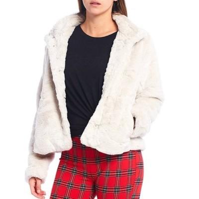 サンクチュアリー レディース ジャケット・ブルゾン アウター Daily Faux Fur Snap Front Jacket