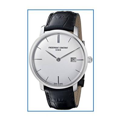 Frederique Constant Men's FC306S4S6 Slim Line Slim Line Mens Silver Dial Automatic Watch[並行輸入品]