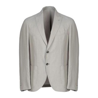イレブンティ ELEVENTY テーラードジャケット ベージュ 52 麻 54% / シルク 23% / コットン 23% テーラードジャケット