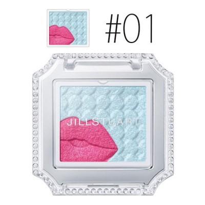 【母の日】ジルスチュアート (#01)アイコニックルック アイシャドウ クリスタル カラット #berry first kiss 0.7g(限定)【メール便可】