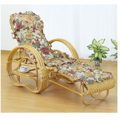 籐椅子 籐の椅子 籐寝椅子 ファブリックカバー付 座面高35cm IMA200M 今枝商店