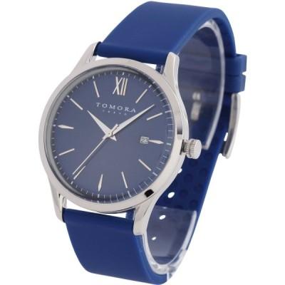 トモラ トウキョウ 腕時計 ブルー×シルバー サイズ(ケース):約H5.7cmxW4.3cmxD1cmケースサイズにリューズを含む、ベルト幅