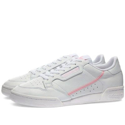 ADIDAS CONTINENTAL 80 W WHITE, TRUE PINK & CLEAR PINK