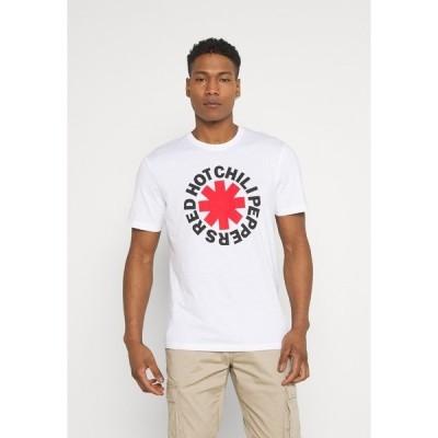 オンリーアンドサンズ Tシャツ メンズ トップス ONSRHCP LIFE TEE - Print T-shirt - white