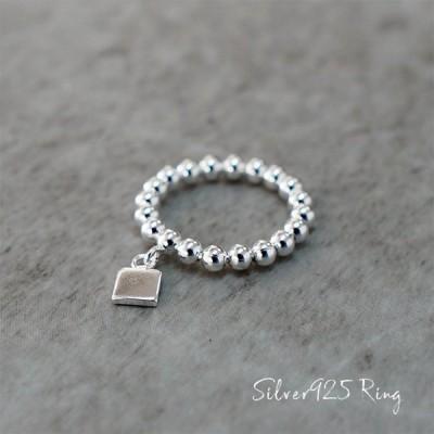シルバー silver 925 リング 指輪 アクセサリー メンズ レディース ユニセックス シンプル 個性的 つけっぱなし ごつめ フリーサイズ srg-0009