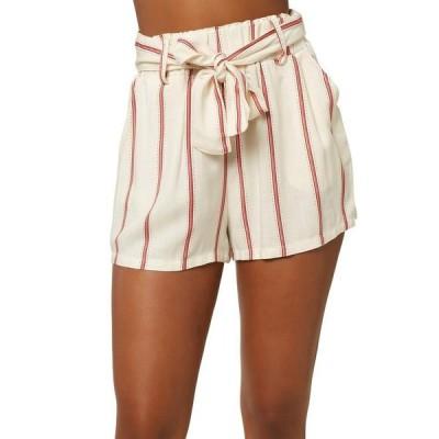 オニール レディース ハーフパンツ・ショーツ ボトムス Cameron Stripe Shorts