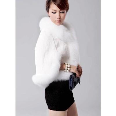 人気 フェイクファー 女性 防寒 おしゃれ ショートコート上着 ジャケット アウター 暖かい 冬物 レディース オフィス OL 通勤 毛皮コート