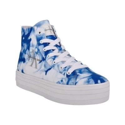 カルバンクライン スニーカー シューズ レディース Women's Bailee Active Sneakers Blue Multi