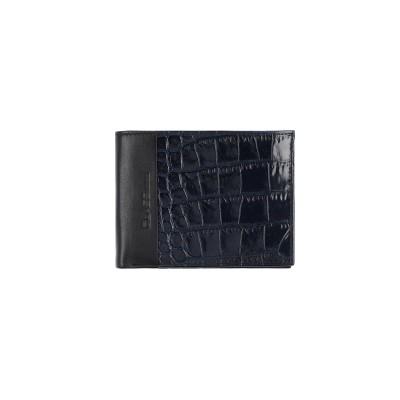 クラス ロベルト カヴァリ CAVALLI CLASS 財布 ダークブルー 革 財布
