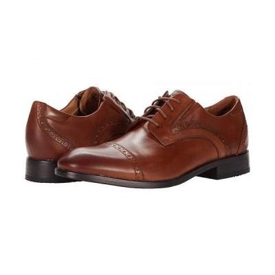 Rockport ロックポート メンズ 男性用 シューズ 靴 オックスフォード 紳士靴 通勤靴 Total Motion Office Cap Toe - British Tan