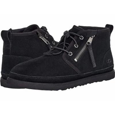 (取寄)アグ メンズ ニューメル デュアル ジップ ブーツ UGG Men's Neumel Dual Zip Boot Black